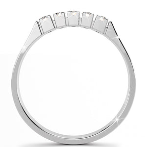 9ct White Gold 0.09 Carats Anniversary Diamonds