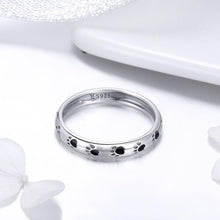 Load image into Gallery viewer, Solid 925 Sterling Silver Animal Pet Paw Print Band Ring - Brilliant Co