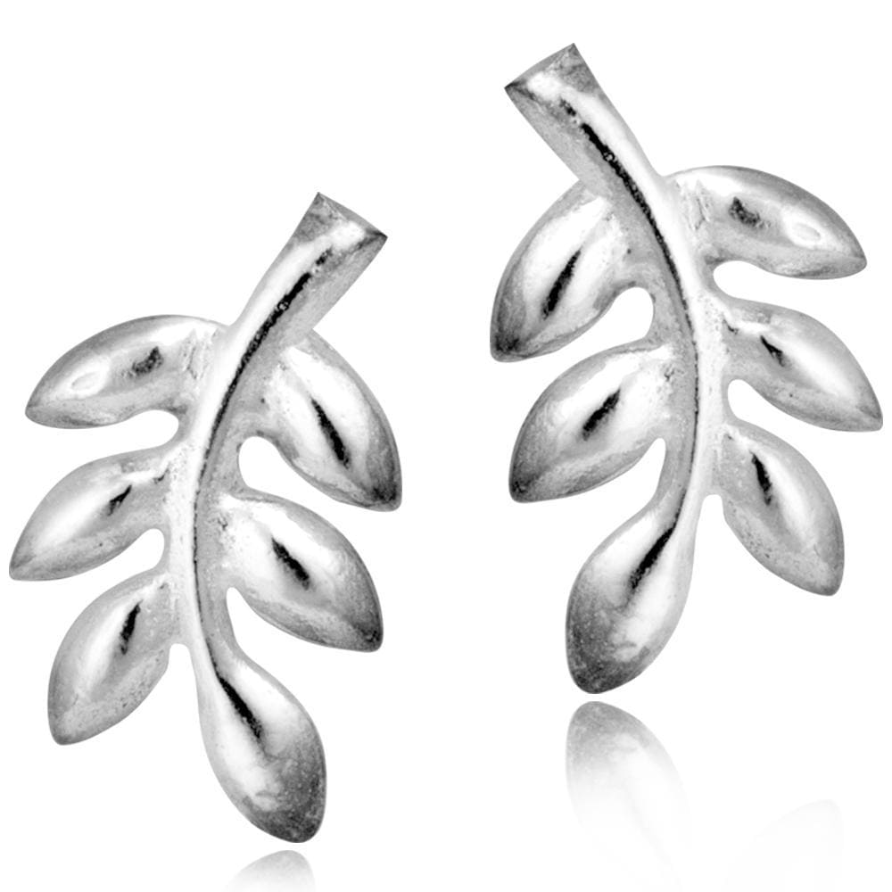 Solid 925 Sterling Silver Light Earrings - Brilliant Co