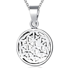 Load image into Gallery viewer, Solid 925 Sterling Silver Illusional Pendant - Brilliant Co
