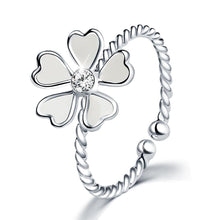 Solid 925 Sterling Silver Bloom Wire Ring - Brilliant Co