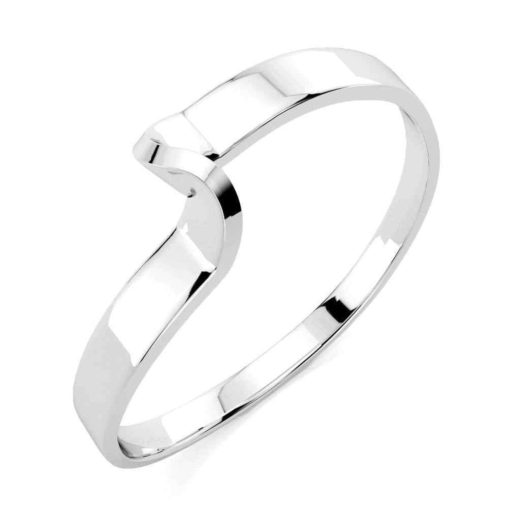 Solid Sterling Silver 925 Classic Wedding Band