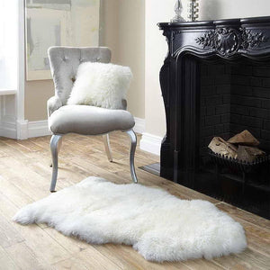 Premium Australian Lambskin Sheepskin Soft Long Wool Rug, 80/95/115 cm - Brilliant Co