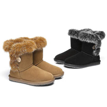 AS UGG Short Button Boots Donna #521009 - Brilliant Co