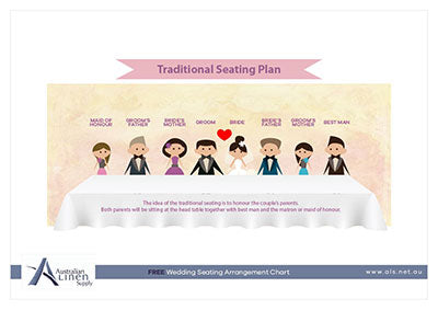 Tradtional Seating Plan A