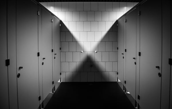 black theme toilet purely
