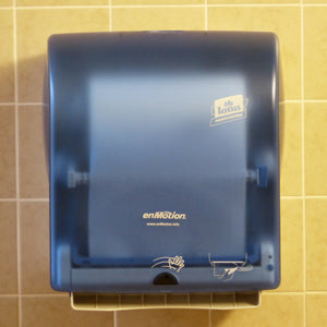 Hand dryers paper dispenser