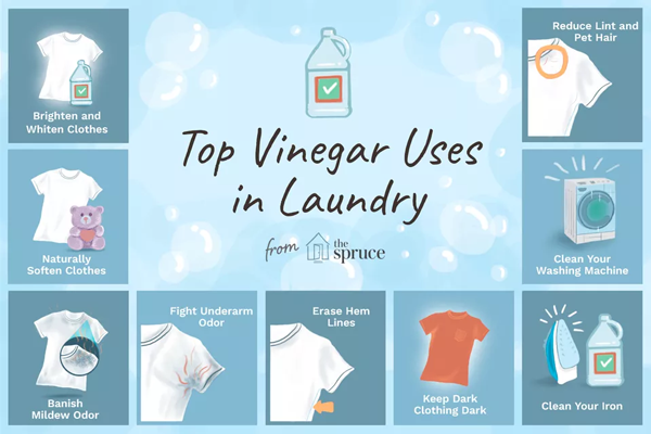 Vinegar is a Laundry Miracle Worker
