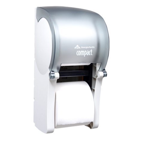 Georgia Pacific - Compact Vertical Double Roll Coreless Tissue Dispenser