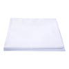 Poly Combed Cotton White Flat Bed Sheet