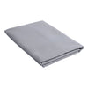 Flat Sheet Bed Linen Charcoal Gray