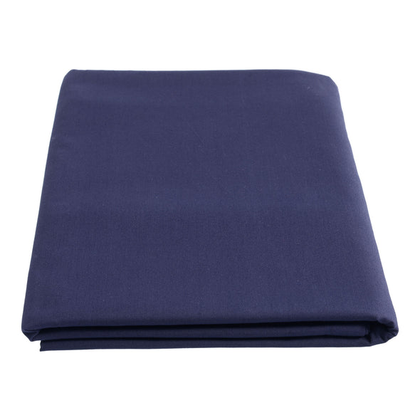 Flat Sheet Bed Linen Navy Blue