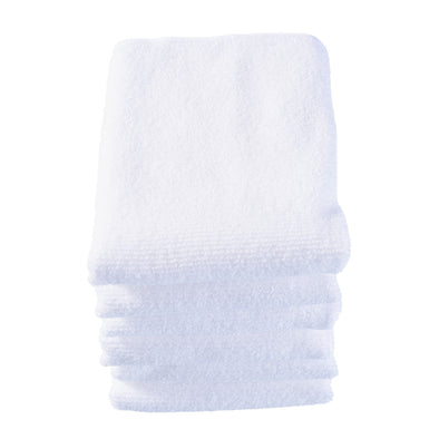 Microfibre Face Washer - White