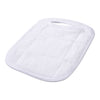 Terry Toweling White Oven Mitt