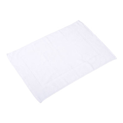 White Cotton Bath Mat