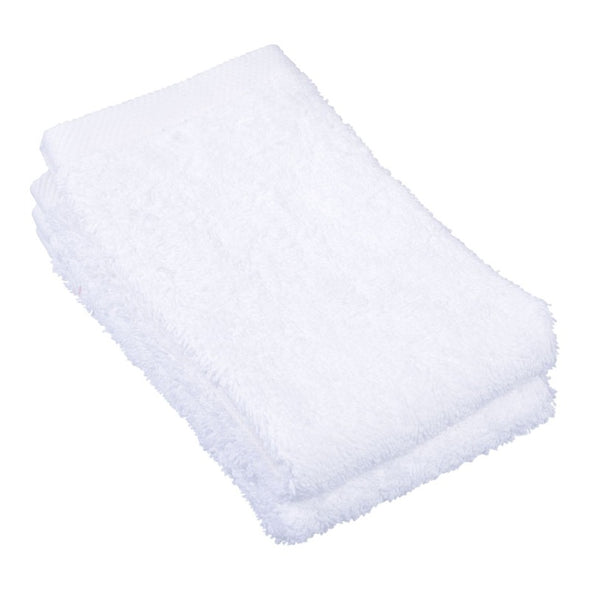 White Cotton Face Washer