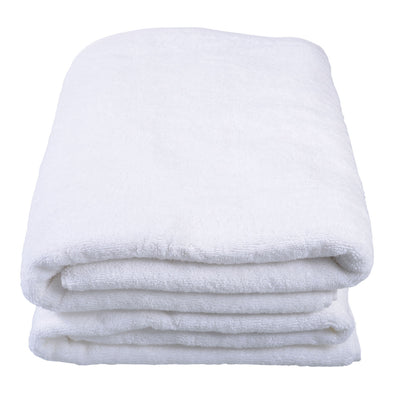 Pearl Indulgence White Bath Sheet