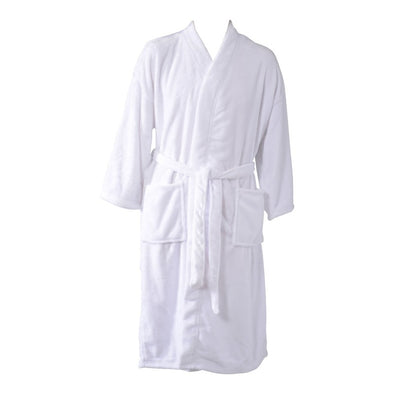 Plush Microfibre Bathrobe