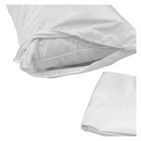 Non Quilted Pillow Protector - 2 Pack