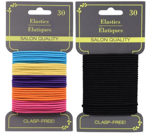 Elastic Hair Ties 30 Pack - Parker J's