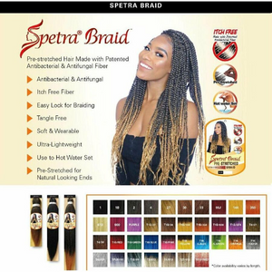 "EZ Braid Pre-Stretched Braiding Hair 26"" - Parker J's"