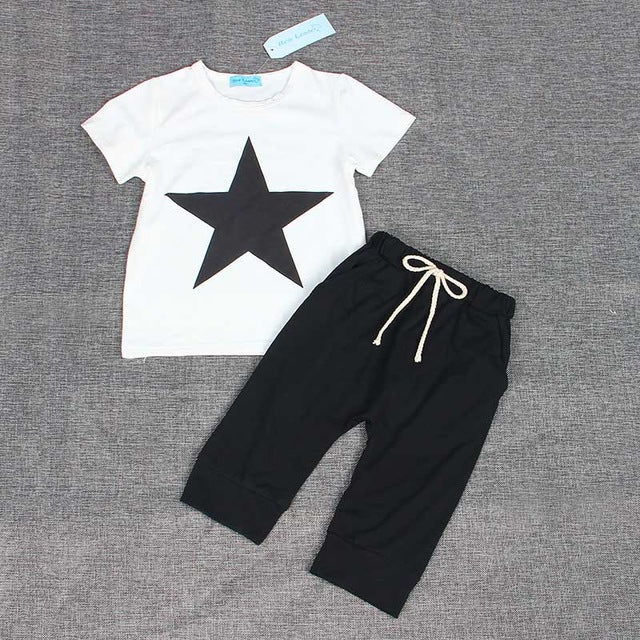 BABY STAR    T-Shirt & Bottoms set