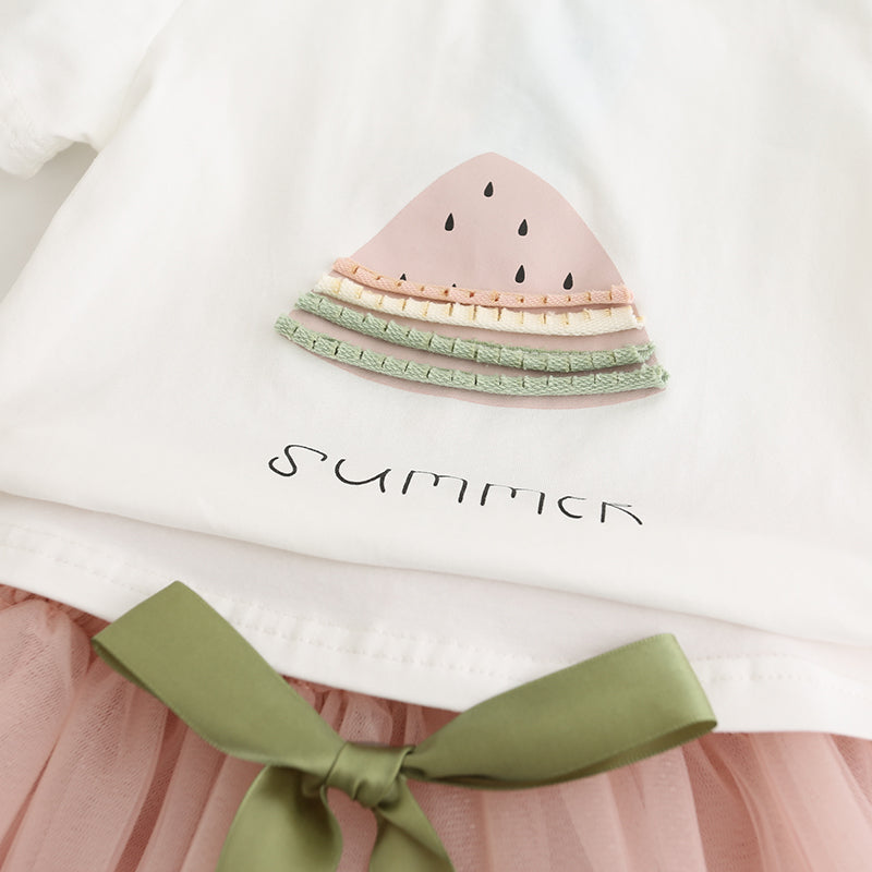 WATERMELON SUMMER T-Shirt & Tutu set