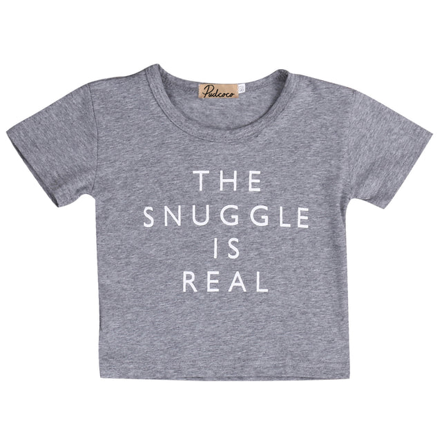 SNUGGLE IS REAL Baby T-Shirt