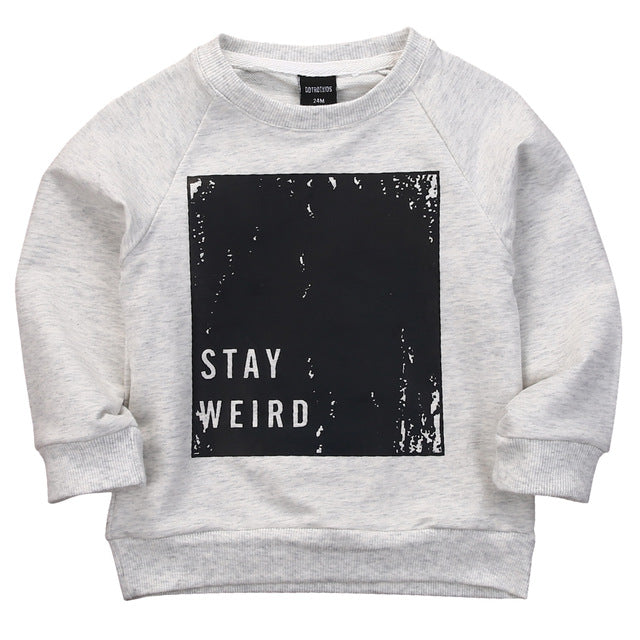 STAY WEIRD BOYS SWEATSHIRT