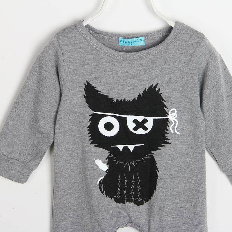 BLACK CAT BABY ROMPER SUIT
