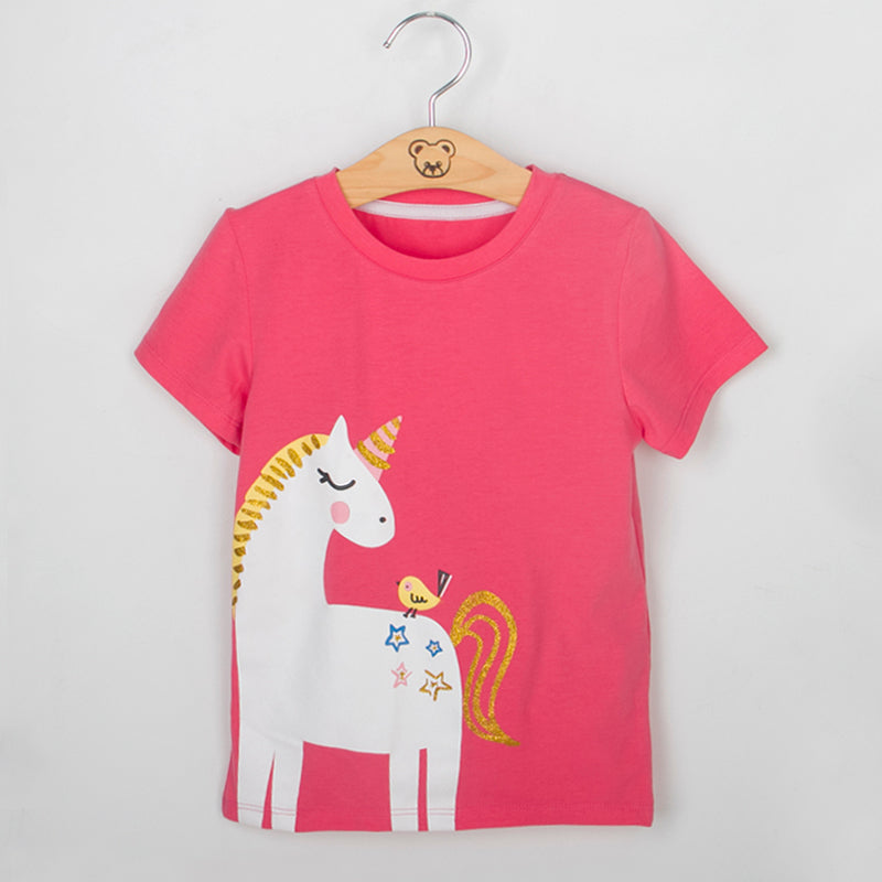 MAGIC UNICORN SUMMER T-SHIRT & SHORTS SET