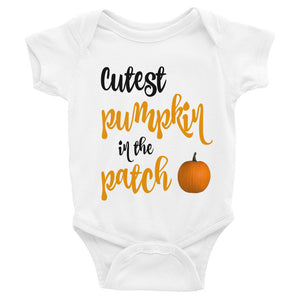 Cutest Pumpkin in the Patch Infant Bodysuit
