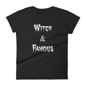 Witch and Famous Women's short sleeve t-shirt