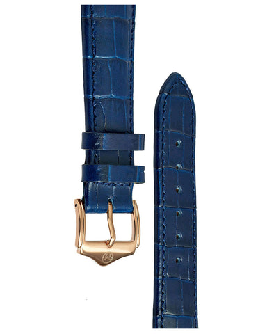 20mm Leather Strap - Blue/RG