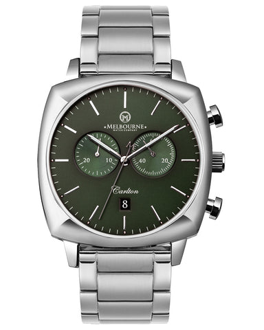 Carlton Green (Steel Bracelet)