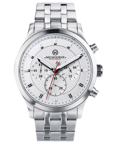 Hawthorn Chrono White