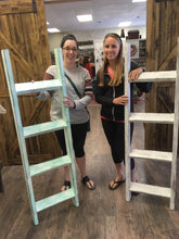 Wednesday, January 29th 6:30 PM | Farmhouse Blanket Ladder