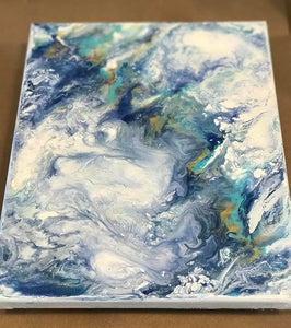 Wednesday, September 16th 6:00 PM | Acrylic Resin Paint Pouring
