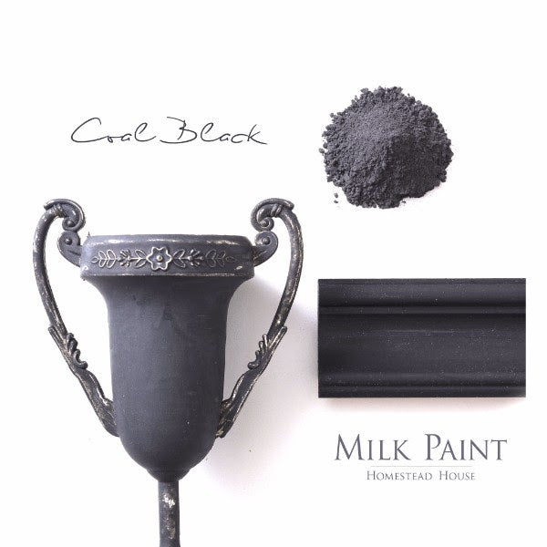 Coal Black | 1qt Milk Paint