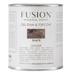 Fusion Gel Stain & Top Coat | Black