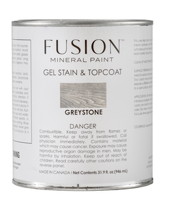 Fusion Gel Stain & Top Coat | Greystone