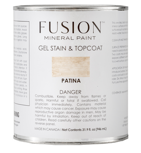 Fusion Gel Stain & Top Coat | Patina