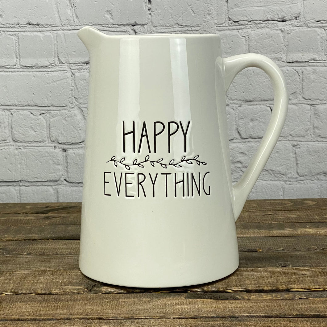 Pitcher | Happy Everything