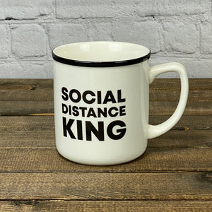Social Distance King | 14 oz. Mug