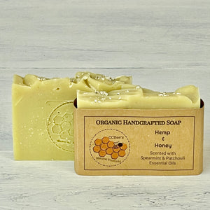 Organic Soap | Hemp & Honey