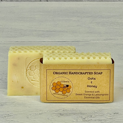 Organic Soap | Oats & Honey