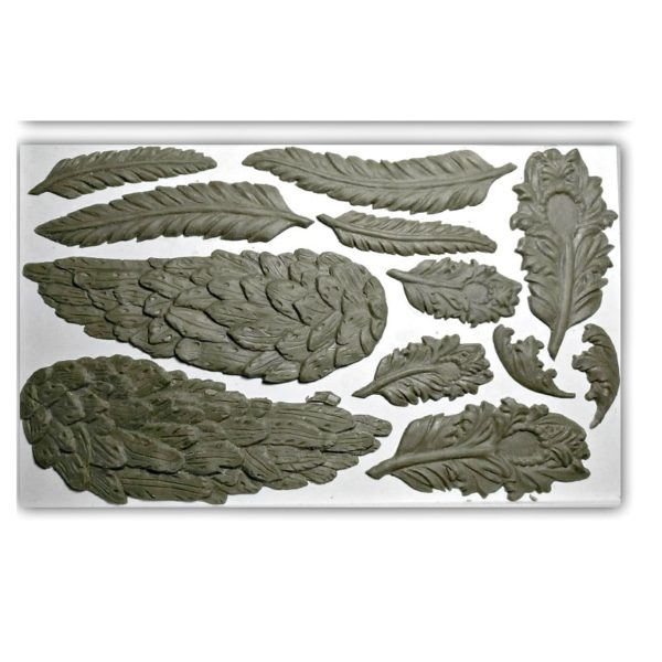 Wings and Feathers IOD Decor Mould