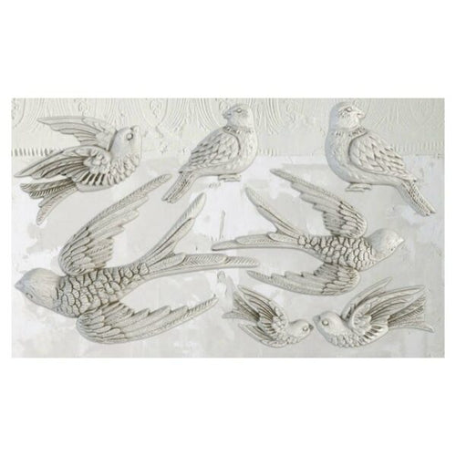 Birdsong IOD Decor Mould