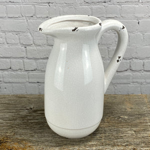 Crackle Pitcher | Large