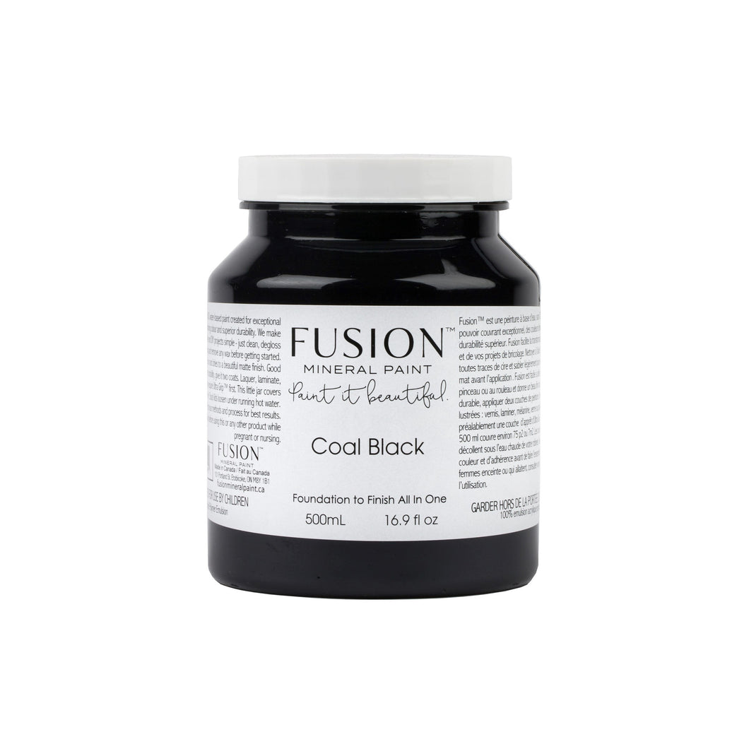 Coal Black | Fusion Mineral Paint